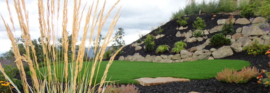 landscaping services lush mountain landscaping